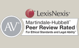 LexisNexis Martindale-Hubbell AV Peer Review Rated